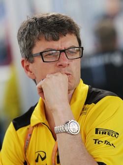 Chris Dyer, jefe de equipo de Renault Sport F1 de rendimiento del vehículo