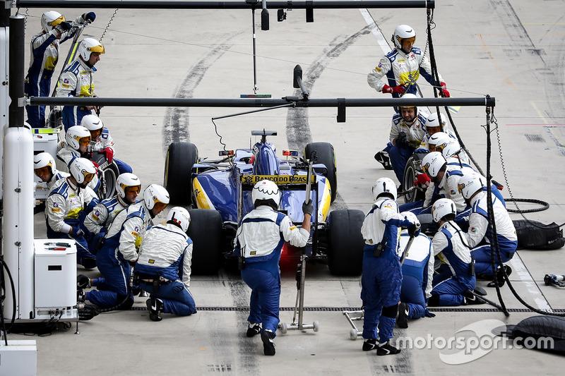 Фелипе Наср, Sauber F1 Team C35