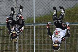Race winner Johann Zarco, Ajo Motorsport flip