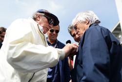 (L naar R): Jackie Stewart, met Bernie Ecclestone