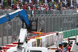 Pascal Wehrlein, Manor Racing abandonne au départ