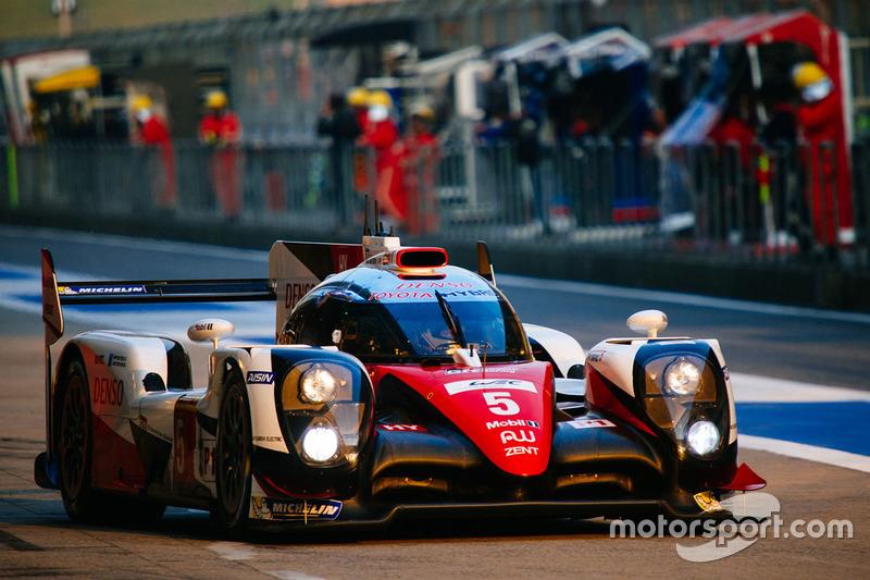 3. LMP1: #5 Toyota Racing, Toyota TS050 Hybrid