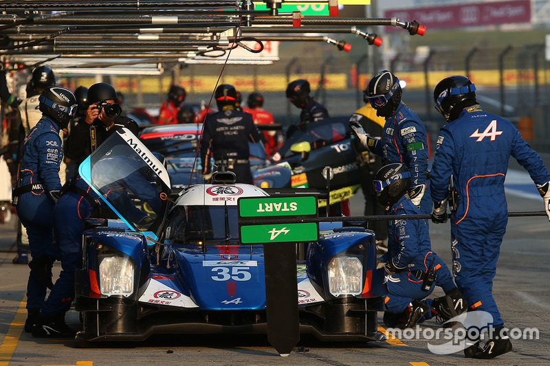 8. LMP2: #35 Baxi DC Racing, Alpine A460 - Nissan