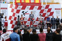 Podyum: 1.  Jorge Lorenzo, Yamaha; 2. Dani Pedrosa, Repsol Honda; 3. Marc Marquez, Repsol Honda