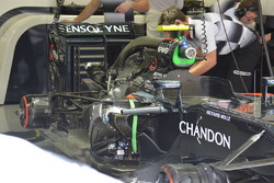 La monoposto di Jenson Button, McLaren MP4-31