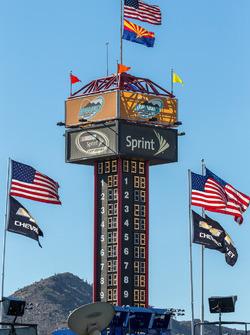 Anzeigeturm am Phoenix International Raceway