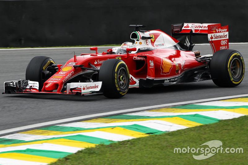 Sebastian Vettel, Ferrari, 1.11.495