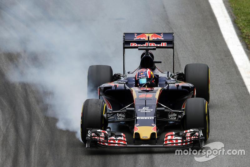 Daniil Kvyat, Scuderia Toro Rosso, 1.12.726