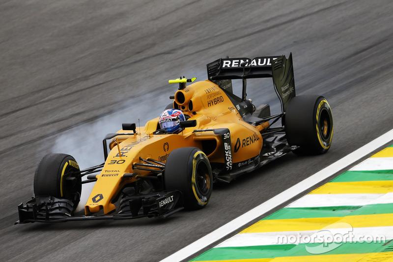 16: Джоліон Палмер, Renault Sport F1 Team RS16