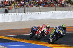 Valentino Rossi, Yamaha Factory Racing, Andrea Iannone, Ducati Team, Marc Marquez, Repsol Honda Team, Maverick Viñales, Team Suzuki Ecstar MotoGP