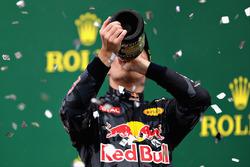 Podium: derde Max Verstappen, Red Bull Racing