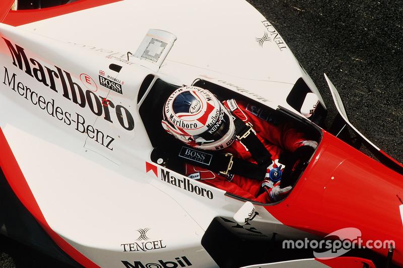 1995: Formel-1-Abschied bei McLaren