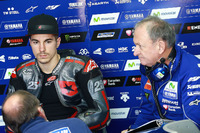 Maverick Viñales, Yamaha Factory Racing, et Ramon Forcada