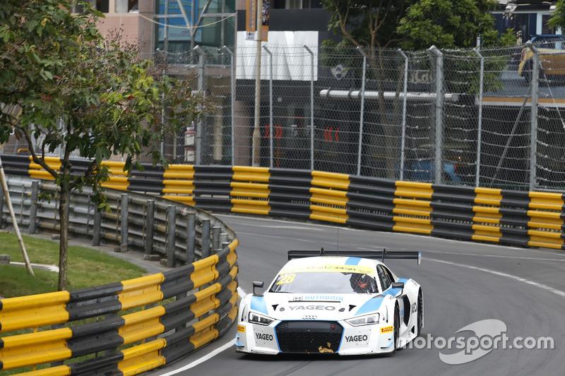 8. Fabian Plentz, Team HCB-Rutronik-Racing, Audi R8 LMS