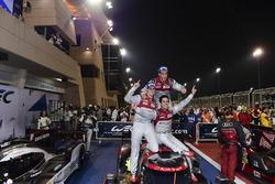 Sieger: #8 Audi Sport Team Joest, Audi R18: Lucas di Grassi, Loic Duval, Oliver Jarvis