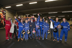 Max Verstappen with participants