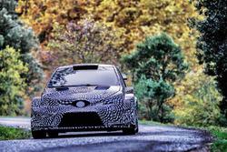 La Toyota Yaris WRC 2017 en test