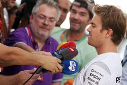Nico Rosberg, Mercedes AMG F1 met de media