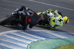Alvaro Bautista, Aspar MotoGP Team; Karel Abraham, Aspar MotoGP Team