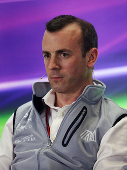 Stephen Fitzpatrick, Manor Racing Team Owner in the FIA Press Conference