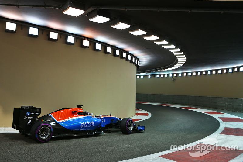 13 місце - Паскаль Верляйн, Manor Racing MRT05. Умовний бал - 6,553