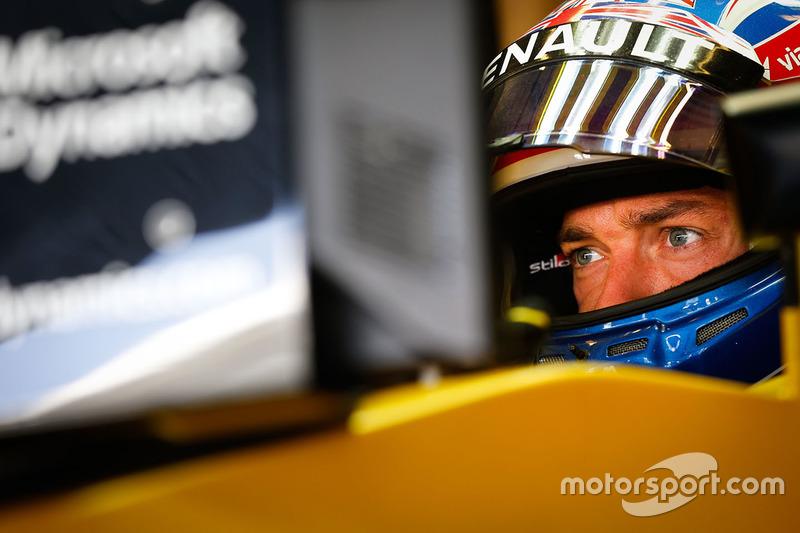 14 місце - Джоліон Палмер, Renault Sport F1 Team RS16. Умовний бал - 6,379