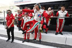 Das Team Von Pierre Gasly, PREMA Racing feiert GP2- Meisterschaft