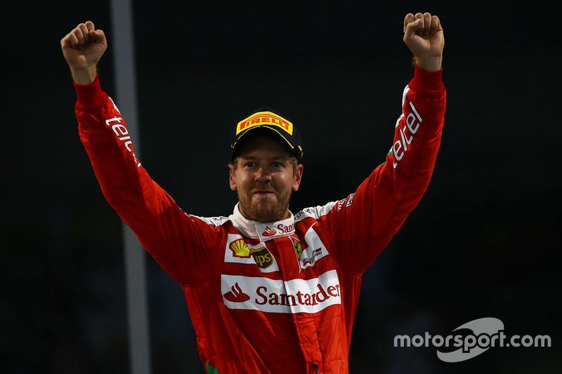 Sebastian Vettel, Ferrari, 5º