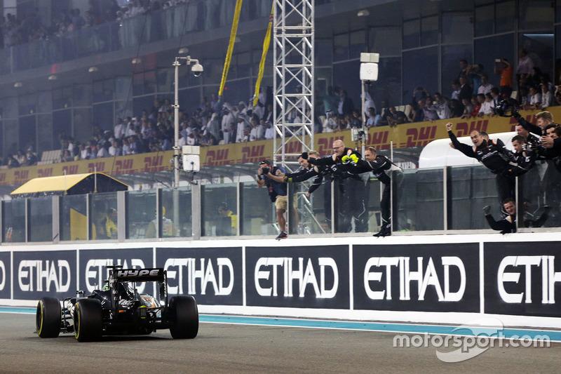 8 місце - Ніко Хюлькенберг, Sahara Force India F1 VJM09. Умовний бал - 12,682