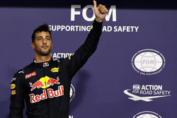 Third position Daniel Ricciardo, Red Bull Racing