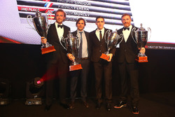2016 Endurance Cup Pro-AM Cup Pilotlar şampiyonu Alessandro Bonacini, Andrea Rizzoli, 3. Oliver Morley, Miguel Toril