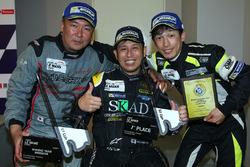 1. GT-Cup: #96 TKS, Porsche 911 GT3 Cup: Shinyo Sano, Takuma Aoki, Shigeto Nagashima