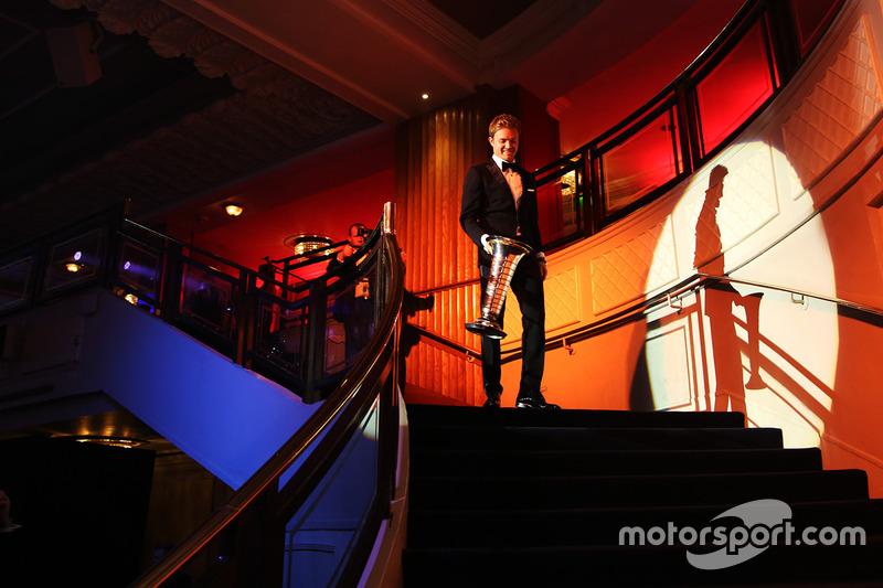 Le Champion du monde de F1 Nico Rosberg, Mercedes AMG F1