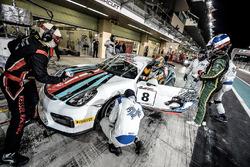 #8 Dragon Racing, Porsche Cayman GT4: Bill Martin, Matthew Swanepoel