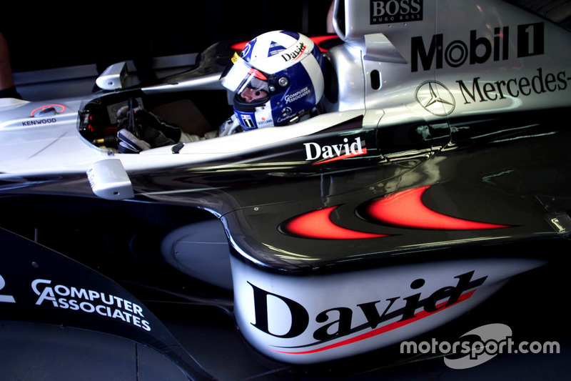 1999: David Coulthard, McLaren MP4/14