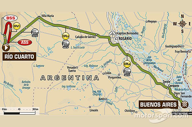 Etapa 12: Río Cuarto - Buenos Aires