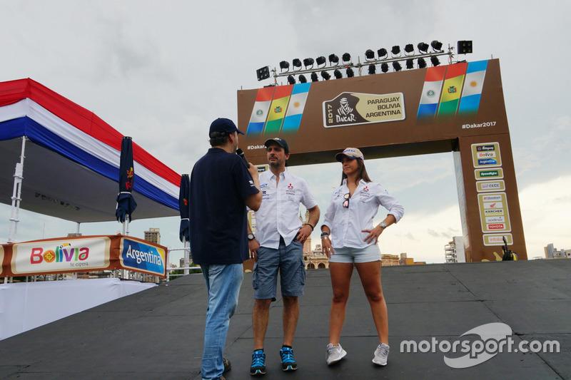 #360 Mitsubishi: Cristina Gutiérrez, Pedro López