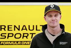Nico Hulkenberg Renault F1 presentation