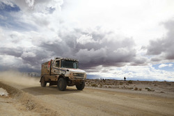 #514 DakarSpeed, Scania: Maurik van Den Heuvel, Peter Kuijpers, Wilko van Oort