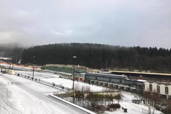Winter in Spa-Francorchamps