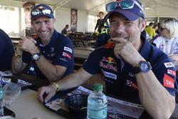Stéphane Peterhansel, Peugeot Sport; Sébastien Loeb, Peugeot Sport