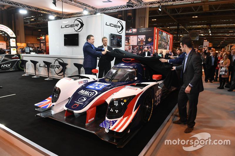Zak Brown en gezelschap onthullen een Le Mans-bolide