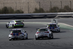 Luca Engstler, Liqui Moly Team Engstler Volkswagen Golf GTI TCR and Michela Cerruti, Mulsanne Racing Alfa Romeo Giulietta TCR