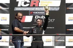 Podium: Race winner Brandon Gdovic, Liqui Moly Team Engstler Volkswagen Golf GTI TCR