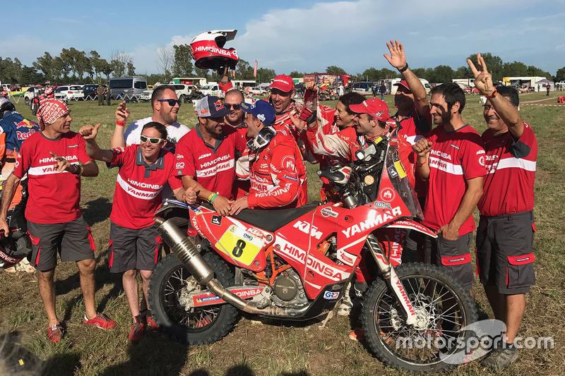 Himoinsa Racing Team celebración