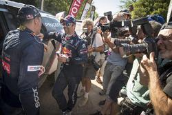 Sebastien Loeb, Peugeot Sport and Stephane Peterhansel, Peugeot Sport