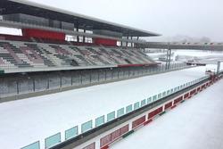 Autódromo de Mugello nevado