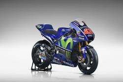 Das neue Bike von Maverick Viñales, Yamaha Factory Racing