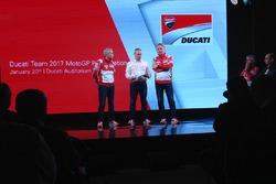 Davide Tardozzi, Ducati Team Team Principal, Paolo Ciabatti, Ducati Corse Sporting Director