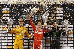 Nationencup: 1. Sebastian Vettel, Team Deutschland; 2. Kyle Busch und Kurt Busch, Team USA NASCAR
